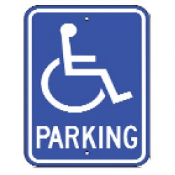 Handicap Parking Signs (25)